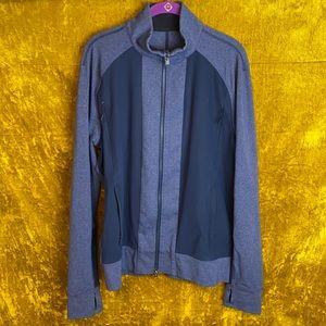 Lululemon Navy Blue Full Zip Athletic Jacket SizeM